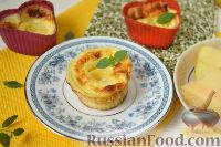Омлетный десерт c дыней