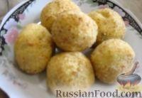 Картофельные крокеты с грибами (в духовке)