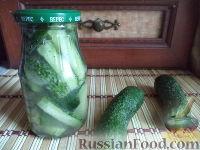 Салат из огурцов в собственном соку