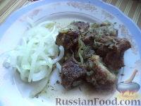 Шашлык в казане (узбекская кухня)