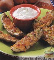Картофель, жаренный на гриле