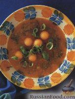 Сладкий суп из дыни