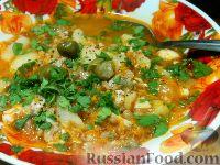 Рыбный суп с гречкой