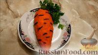 """Салат """"Морковь"""" с курицей, грибами и яйцами"""