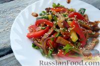 Салат с языком, по-китайски