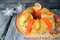 """Салат """"Праздничный оливье"""" с курицей"""