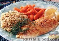 Рыба, быстро запеченная в духовке