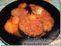 Ассорти из кабачков, баклажанов и моркови с овощной икрой