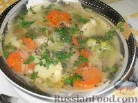 """Суп """"Овощная феерия"""""""
