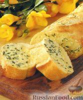 Хлеб чесночно-луковый