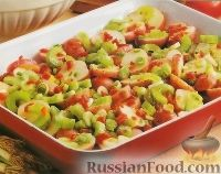 Салат картофельный с перцем