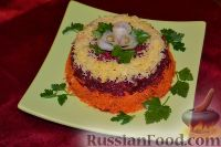 Салат «Любовница» с сыром