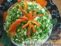 Слоеный салат со свеклой и плавленым сыром