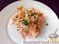 Салат из редьки с яблоками и морковью