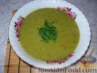 Крем-суп из куриных грудок и щавеля