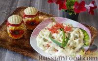 Куриный салат с ветчиной