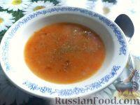 Картофельно-морковный суп-пюре с курицей