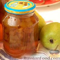 Варенье из груш с лимончиком