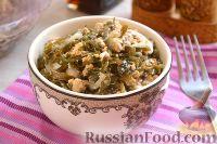 Салат из морской капусты и тофу