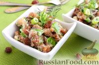 Салат с курицей и изюмом