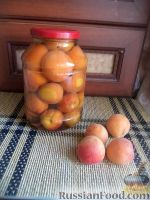 Компот из абрикосов ускоренным способом (без стерилизации)