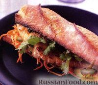 Сендвичи с морской рыбой