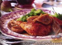 Курица с портвейном и инжиром