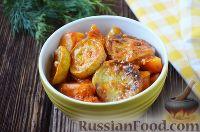Овощное рагу в томатном соусе
