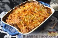 Мядзведзь (белорусская картофельная запеканка)