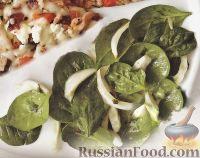 Салат из шпината с фенхелем
