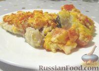 Запеченная рыба под томатно-сырной корочкой