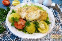 Куриное филе, фаршированное шпинатом и сыром