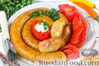 Ведарай (литовская картофельная колбаса)