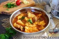 Прикумские рванцы (суп с клецками)