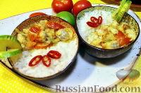 Рыбное карри (белая рыба под кокосовым соусом карри)