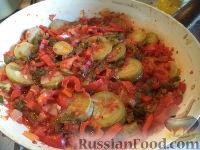 Овощи, тушенные на сковороде