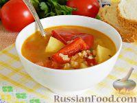 Суп с лечо