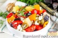 Картофельный салат с оливками