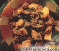 Рагу из ягнятины и картофеля