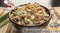 """Салат """"Селяночка"""" из моркови, яиц и зеленого лука"""