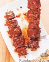 Филе говядины под соусом барбекю