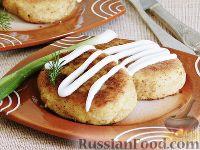 Картофельные зразы с капустой