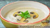 Крем-суп из шампиньонов и картофеля (в мультиварке)