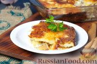 Картофельный гратен с грибами
