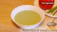 Крем-суп из курицы и шпината