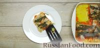 Достать противень из духовки, аккуратно снять фольгу и выложить пангасиуса, запеченного с овощами, в тарелки, полив сверху соусом, образовавшимся при тушении. Приятного аппетита!