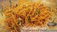 Постный морковный салат