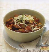 Вегетарианское овощное рагу