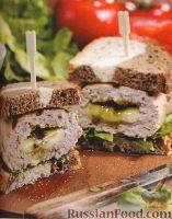 Бутерброды с индюшиными котлетами