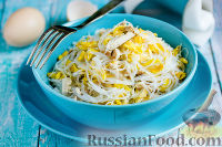 Мясной салат с фунчозой